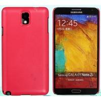Пластиковый чехол с кожаным покрытием серия Leather Pretender для Samsung Galaxy Note 3 Розовый