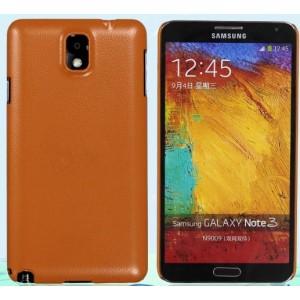 Пластиковый чехол с кожаным покрытием серия Leather Pretender для Samsung Galaxy Note 3