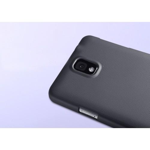 Пластиковый матовый нескользящий премиум чехол для Samsung Galaxy Note 3