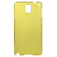 Пластиковый ультратонкий чехол для Galaxy Note 3 Зеленый