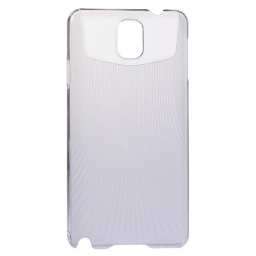 Пластиковый ультратонкий чехол для Galaxy Note 3 Белый