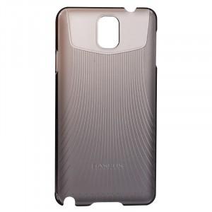 Пластиковый ультратонкий чехол для Galaxy Note 3 Черный