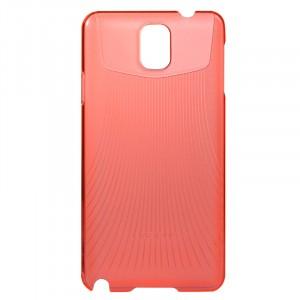 Пластиковый ультратонкий чехол для Galaxy Note 3 Красный