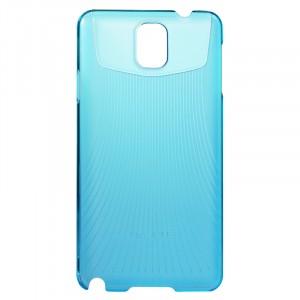 Пластиковый ультратонкий чехол для Galaxy Note 3 Голубой
