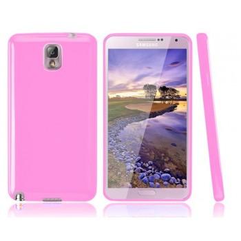 Силиконовый чехол для Galaxy Note 3 Розовый