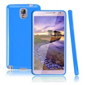 Силиконовый чехол для Galaxy Note 3 Голубой