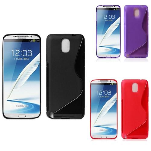 Силиконовый S чехол для Samsung Galaxy Note 3