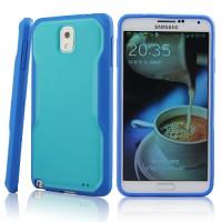 Чехол-бампер премиум серия Future Armor для Galaxy Note 3 Голубой