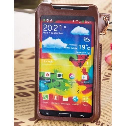 Кожаный чехол бампер подвеска для Samsung Galaxy Note 3