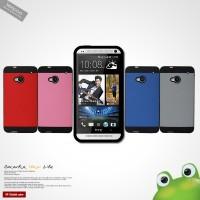 Силиконовый чехол премиум Bi-Colour для HTC One M7