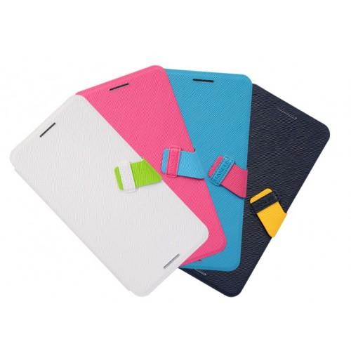 Чехол флип подставка текстурный для HTC One Max