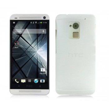 Пластиковый полупрозрачный чехол для HTC One Max