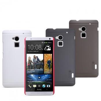 Пластиковый матовый премиум чехол для HTC One Max