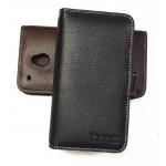 Кожаный чехол портмоне (нат. кожа) для HTC One Mini