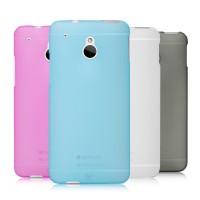 Пластиковый полупрозрачный чехол для HTC One Mini