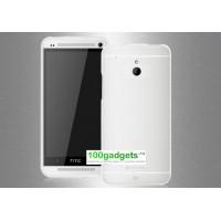 Силиконовый бампер для HTC One Mini Белый