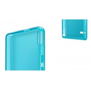 Оригинальный пластиковый полупрозрачный ультратонкий чехол для Huawei Ascend P6
