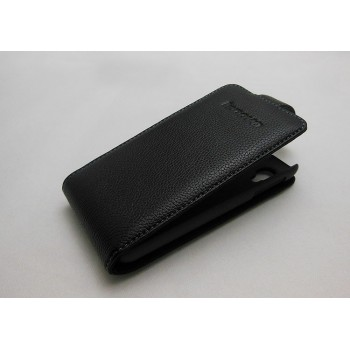 Кожаный чехол книжка вертикальная (нат. кожа) для Lenovo Ideaphone P770
