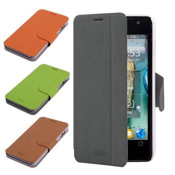 Кожаный чехол подставка для Lenovo IdeaPhone P770