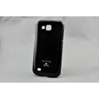 Силиконовый чехол премиум для Samsung Galaxy Premier Черный