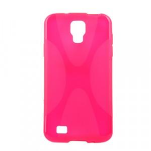 Силиконовый чехол X для Samsung Galaxy S4 Active Розовый