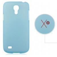 Пластиковый ультратонкий чехол для Samsung Galaxy S4 Mini Голубой