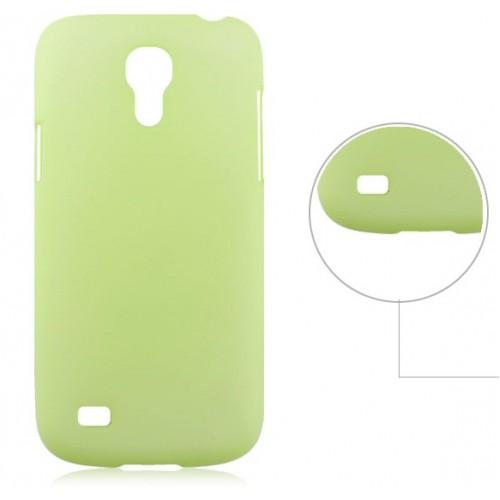 Пластиковый ультратонкий чехол для Samsung Galaxy S4 Mini Зеленый