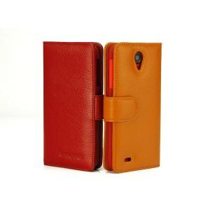 Кожаный чехол портмоне (нат. кожа) для Lenovo S820 Ideaphone