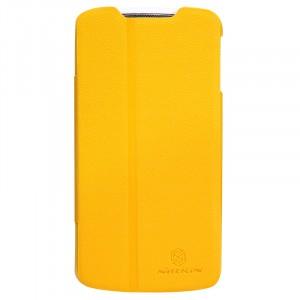 Чехол флип подставка серия Colors для Lenovo IdeaPhone S920 Желтый
