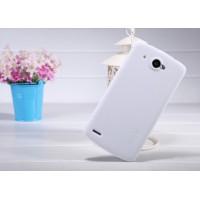 Пластиковый матовый чехол премиум для Lenovo IdeaPhone S920 Белый