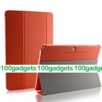 Чехол смарт флип подставка сегментарный серия Smart Cover для Samsung Galaxy Note Pro 12.2 Оранжевый