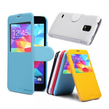 Чехол флип серия Colors для Samsung Galaxy S5