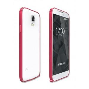 Металлический бампер для Samsung Galaxy S5 Красный