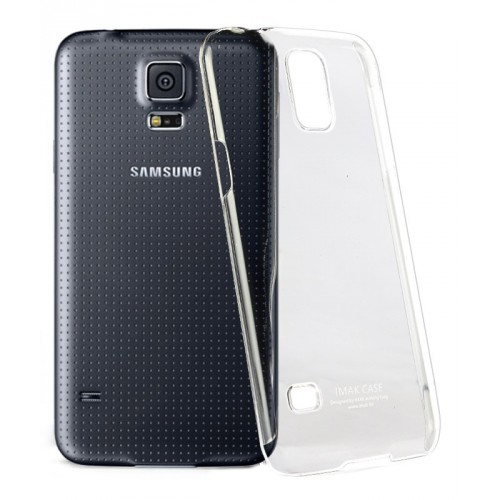 Пластиковый транспарентный чехол для Samsung Galaxy S5