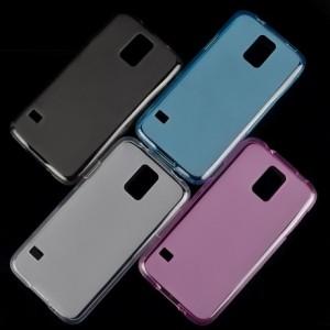Силиконовый матовый чехол для Samsung Galaxy S5