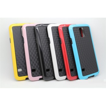 Силиконовый двухцветный чехол серия Cubes для Samsung Galaxy S5