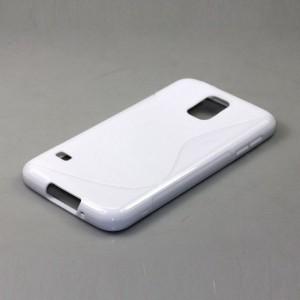 Силиконовый чехол S для Samsung Galaxy S5