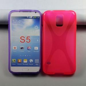 Силиконовый чехол X для Samsung Galaxy S5 Красный