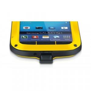 Ультрапротекторный пылеводоударостойкий чехол металл/стекло для Samsung Galaxy S5 Желтый