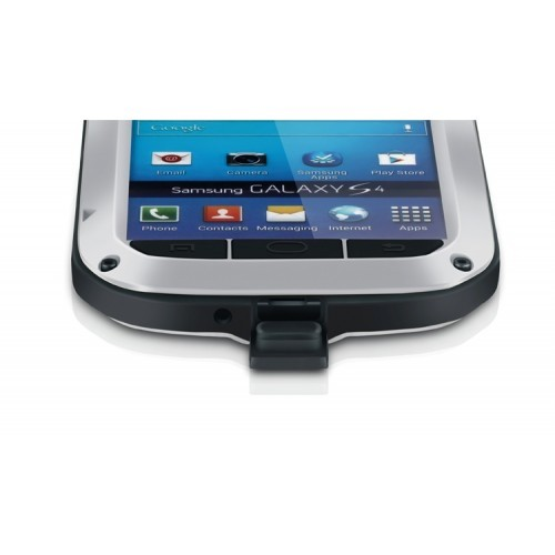 Ультрапротекторный пылеводоударостойкий чехол металл/стекло для Samsung Galaxy S5