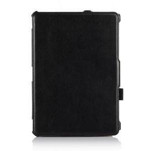 Кожаный чехол подставка для Samsung Galaxy Tab Pro 10.1 Черный