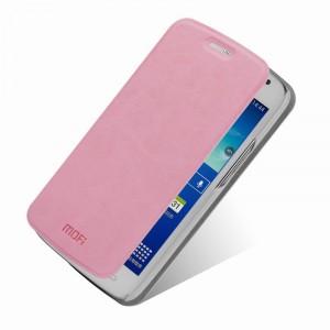 Чехол флип подставка водоотталкивающий для Samsung Galaxy Grand 2 Duos Розовый