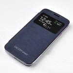 Встраиваемый чехол смарт флип с окном вызова серия Classics для Samsung Galaxy Grand 2 Duos