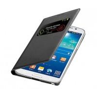 Кожаный чехол смарт флип с окном вызова для Samsung Galaxy Grand 2 Duos