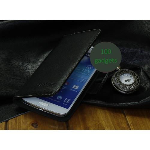 Кожаный чехол портмоне (нат. кожа) для Samsung Galaxy Grand 2 Duos