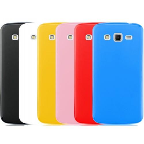 Силиконовый чехол для Samsung Galaxy Grand 2 Duos Красный