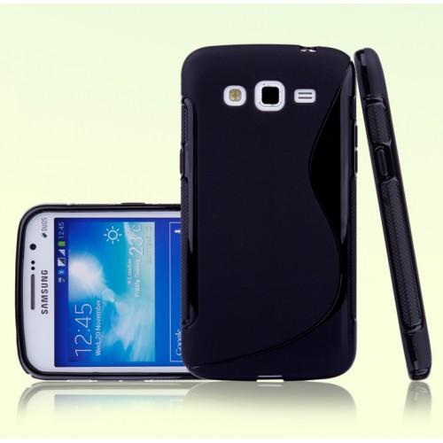 Силиконовый чехол S для Samsung Galaxy Grand 2 Duos Серый