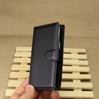 Чехол портмоне подставка для Sony Xperia E1 Черный