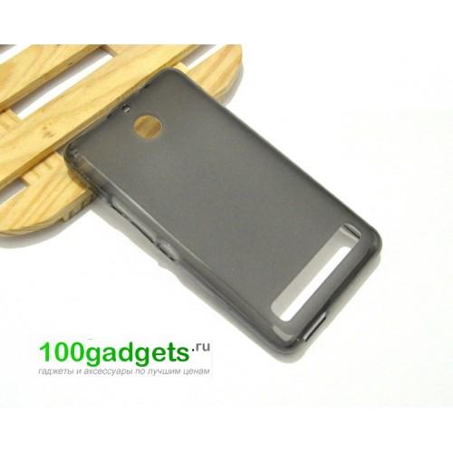 Силиконовый чехол для Sony Xperia E1 Голубой