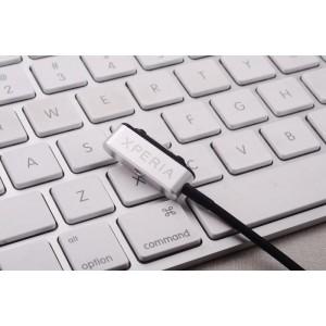 Усиленный магнитный зарядный кабель с индикацией заряда для Sony Xperia Z1/Z Ultra/Z1 Compact/Z2/Z3/Z3 Compact Серый